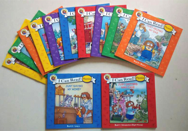 phonics young natural study english book 12 mini books in all