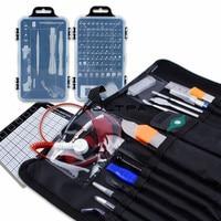 3Set 130Pcs/Set Phone Repair Tool Screw Driver Magnetic Screwdriver Maintenance Tools For Clock Watch Repair