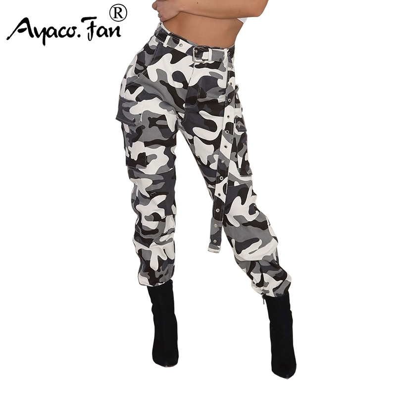 New Ladies Womens Camouflage Print Ali Baba Harem Pants Trousers Size S-XXL
