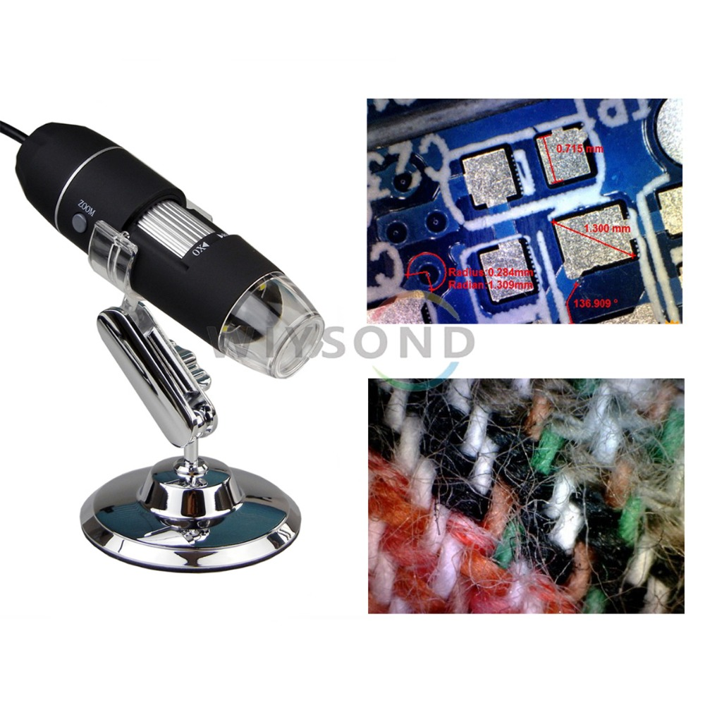 TL016 New Portable 8 Led USB Digital 40 800X 2 MP Endoscope Magnifier Camera Microscope FREE