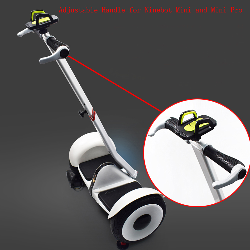 Adjustable Scooter Handle Handrail Hand Control for Xiaomi Ninebot & Mini Pro Scooter Extension Armrest Upgraded Version original ninebot xiaomi ninebot plus electric 11 inch self balancing scooter