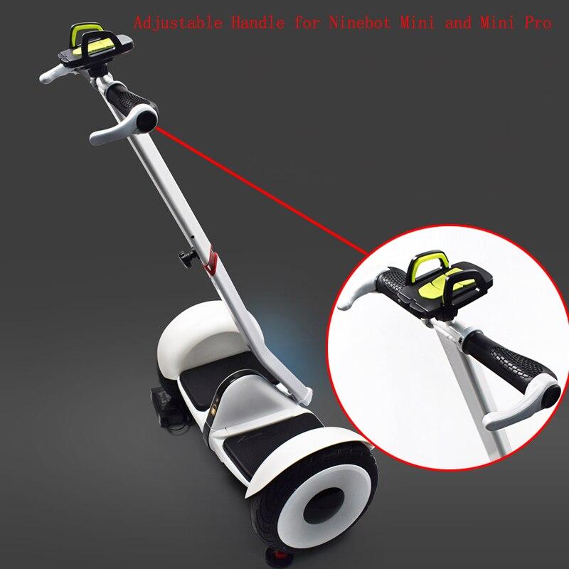 Prix pour Réglable Scooter Poignée Main Courante Main Contrôle pour Xiaomi Ninebot & Mini Pro Scooter Extension Accoudoir Version Améliorée