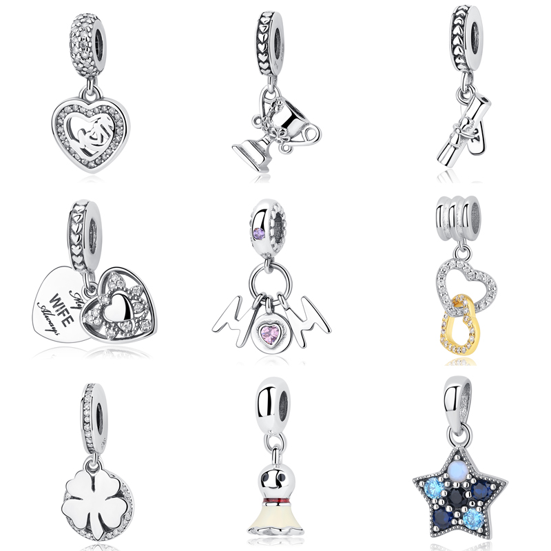 127695411 Detail Feedback Questions about Diy Jewelry Making Women Fit Pandora Charms  Beads Sterling Silver 925 Original Regalos Bisuteria Kralen Voor Sieraden  Family ...