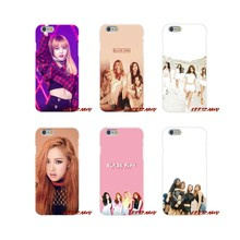 For Samsung Galaxy S3 S4 S5 MINI S6 S7 edge S8 S9 Plus Note 2 3 4 5 8 BLACK PINK BLACKPINK k-pop kpop collage Phone Shell Covers(China)