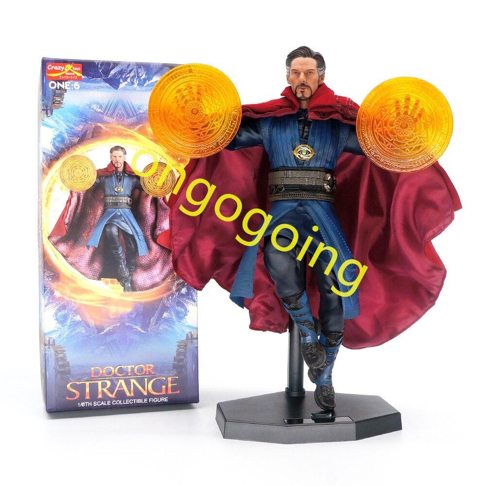 28 cm jouets fous Marvel Avengers docteur étrange Statue PVC figurine à collectionner modèle jouet avec boîte d'origine-in Jeux d'action et figurines from Jeux et loisirs    1