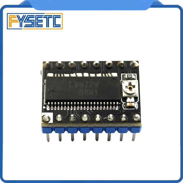 Piezas de impresora 3D, 20 unids/lote, controlador de Motor paso a paso LV8729, módulo de Controlador Ultra silencioso PCB de 4 capas Compatible con Lerdge