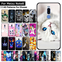 Case For Meizu Note 8 Colorful Patterned Soft TPU Silicone U