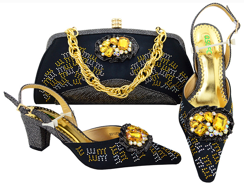 Women's High Heel Shoes Women's Italian Shoe With Matching Bag With Lady Sandal To Match The Hot Sale Set High heel MM1057 free shipping hot sale italian design fashion high heel shoes with matching bag for the party 1308 l68
