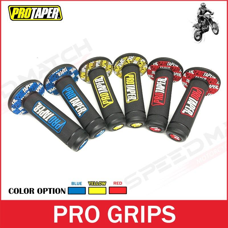"""Håndtag Grip Pro taper Motorcykel Højkvalitets Protaper snavs Pit Bike Motocross 7/8 """"Håndtag Gummi Gel Håndtag Bremsehænder"""