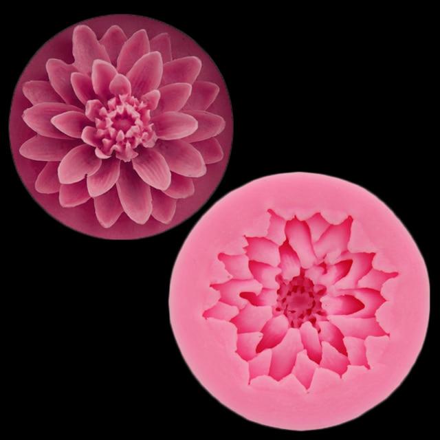 Blume Silikonform Brunnen Kuchen Dekorationen, Valentinstag Schokolade, Die  Fimo Polymer Clay Harze Backen Küche