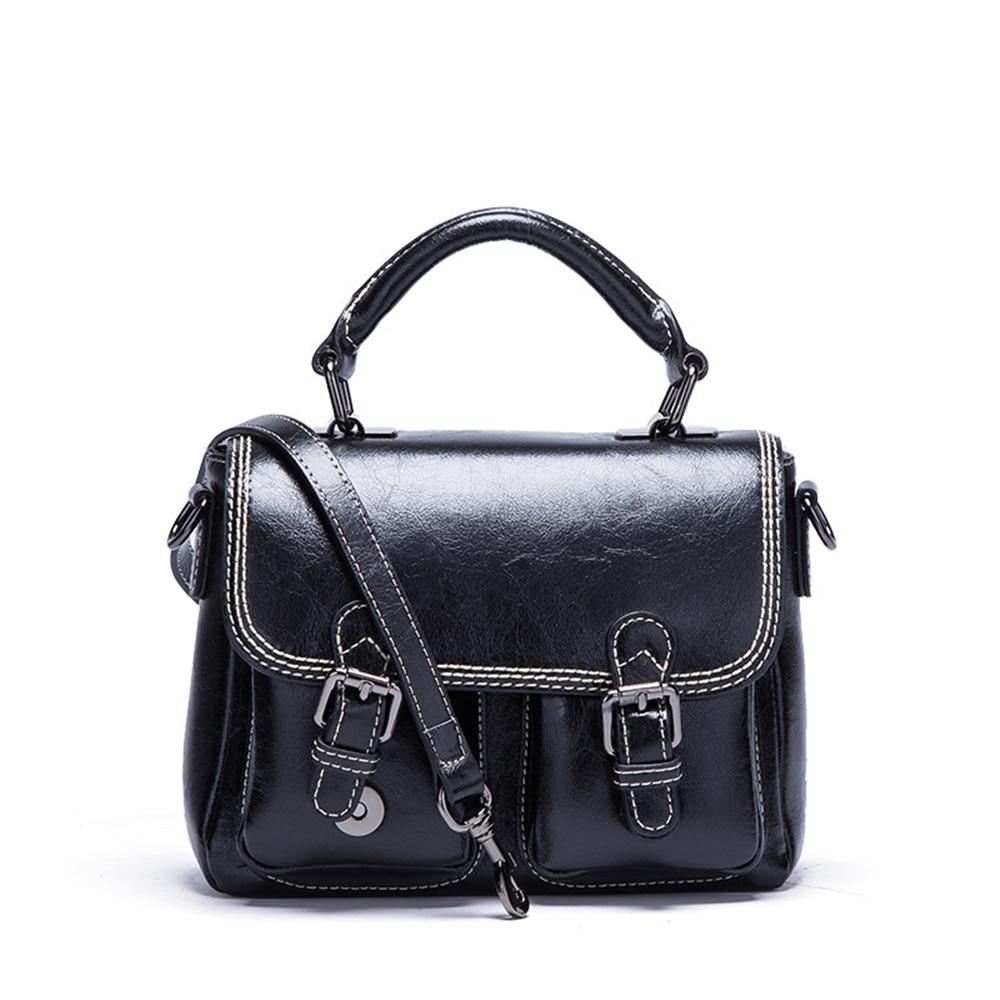 Nouvelle Arrivée Style Preppy Cartables Split En Cuir Femmes Sac À Bandoulière Fashion Designer Marque Messenger Bag Lady Sac à Bandoulière