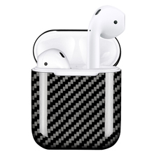 Dust Plug Fitted Cases for AirPods Case Cover Real Carbon Fiber Case Ultra Thin Protector for Apple AirPods Earphone Case