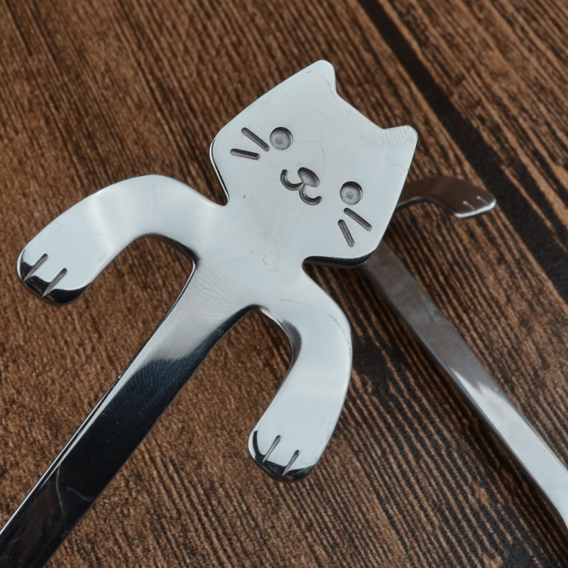 Cat Long Handle Coffee Tea Spoons at The Great Cat Store