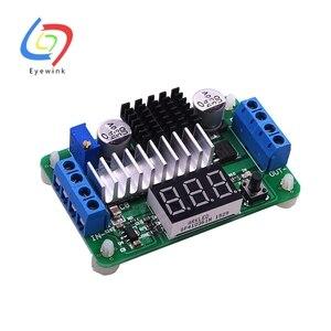 Image 2 - 10 adet LTC1871 100W/6A DC güç kaynağı yükseltmeli dönüştürücü DC DC 3.5V 30V 5v 12v 6A 100W ayarlanabilir dönüştürücüler + kırmızı LED voltmetre
