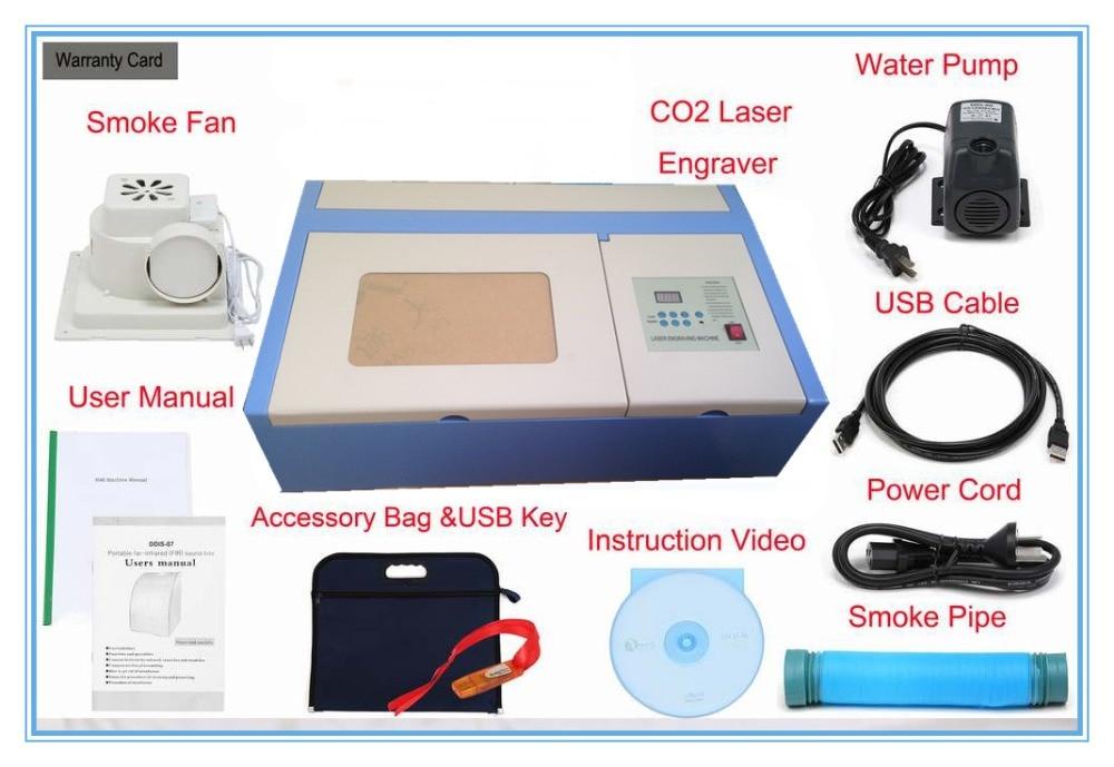 Aliexpress Buy 2018 New Version Jk K3020 Laser Co2 40w Cnc