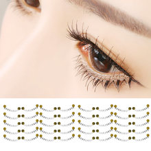 d294439cab5 20 Pairs Under Bottom False Eyelashes Fake Eye Lashes Makeup Cosmetic for  Wedding Cosplay Halloween Christmas Dance Party Balls