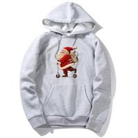 New Christmas Gift 2019 Men's Sports Hoodies Fashion European and American Big Size Hoodies 8 color Top for Young Students
