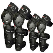 Kneepad motocykla odzieży Ochronnej Wysokiej Jakości CE Knee Protector Straż Motocross Moto Racing Scoyco K11H11-2 Black red motocicleta