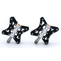One Pair Mtb Mountain Bike Pedal Anti-skid Ultralight Bicycle Pedals Pegs for Bmx Bicycle Accessories