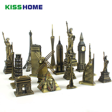 Творческий известный ориентир пресс-форма для украшения миниатюры страна декоративные 3D домашние декоративные аксессуары для путешествий Сувениры