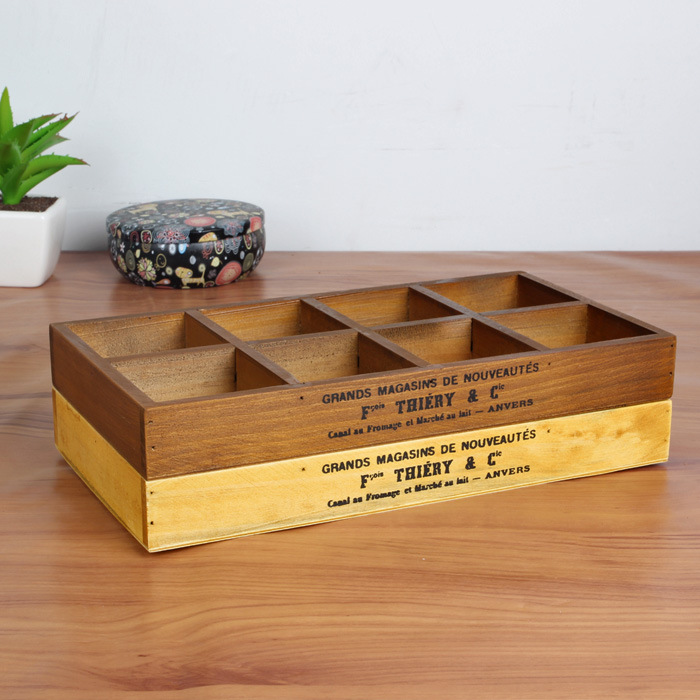 Vintage Jewelry Case Wooden Storage Box Wooden Organizer Wood