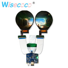 3.4 inch round circular lcd Panel 800*800 HDMI to MIPI Driver Board for diy project Instruments and Apparatuses