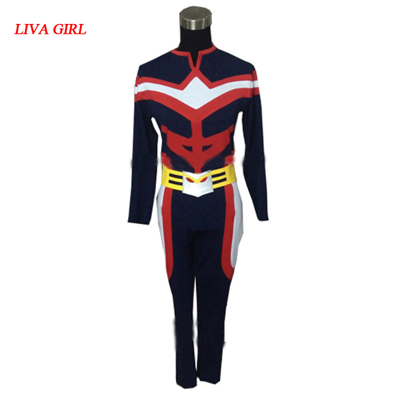 2017 Boku no Hero Academia All Might Cosplay Costume All Might Battle Suit From My Hero Academia