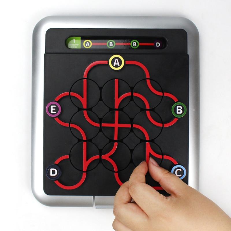1 jeu souterrain labyrinthe de fer 64 douane enfants Intelligence logique