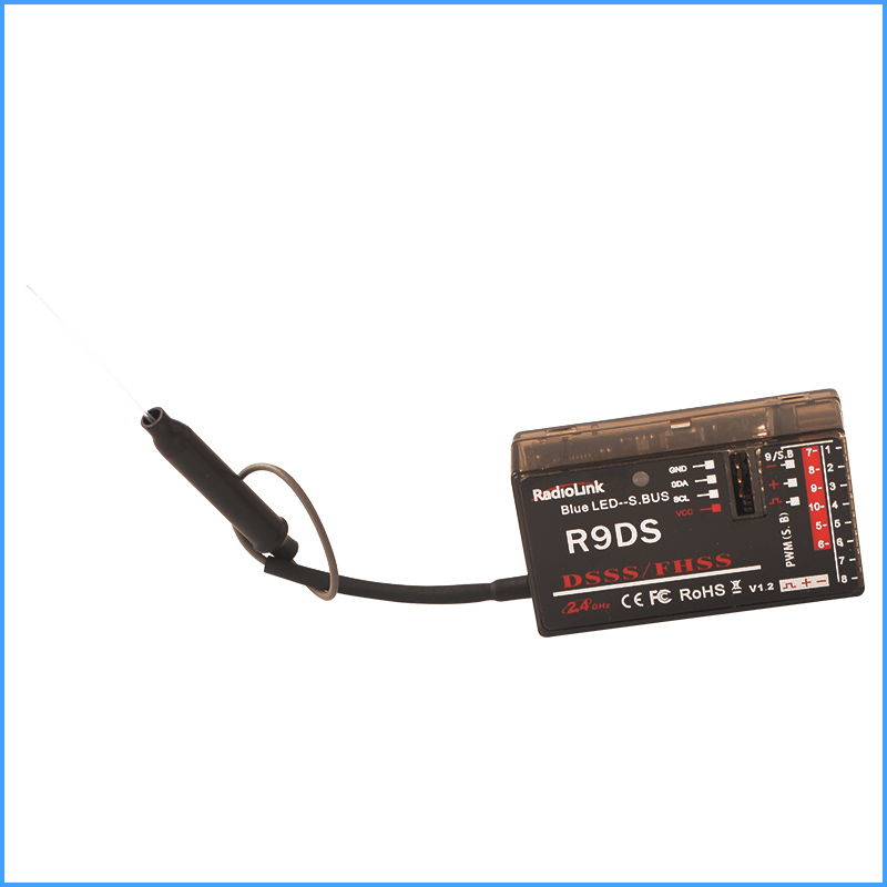 2.4G R9DS 9CH Receiver Special for RadioLink AT9 Remote Controller quadcopter Helicopter airplane