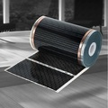 80cm wide geothermal crystal with heating floor of carbon fiber electric heating floor film 25meter
