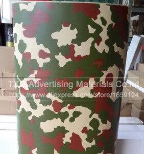 Image 2 - Buona qualità Auto Diverse Per Lo Styling Grande Digital Woodland Green Camo Camouflage Pellicola Del Vinile Wrap Sticker Desert Camouflage pellicola