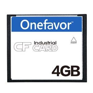 Image 1 - ¡Promoción! 50 unids/lote onefavor 4GB CompactFlash tarjeta de memoria CF industrial tarjeta CF