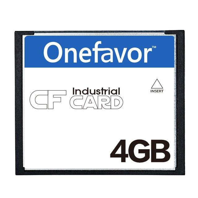 Promozione!!! 50 pz/lotto onefavor 4 GB CompactFlash CF Scheda di Memoria della Scheda CF industriale
