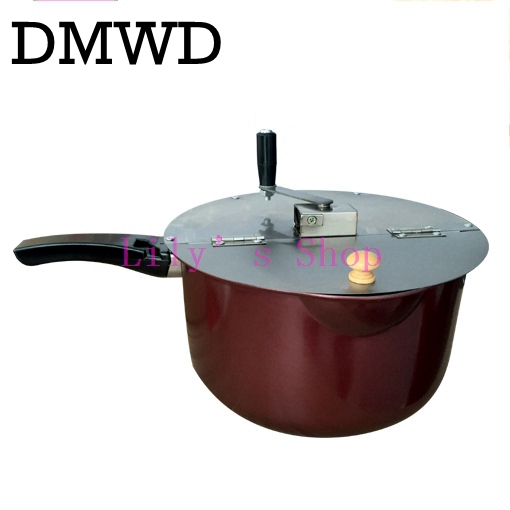 Commercial popcorn maker hand-cranked pot household manual popcorn making machine parts for stovetop gas stove induction cooker high quality household manual hand dumpling maker mini press dough jiaozi momo making machine