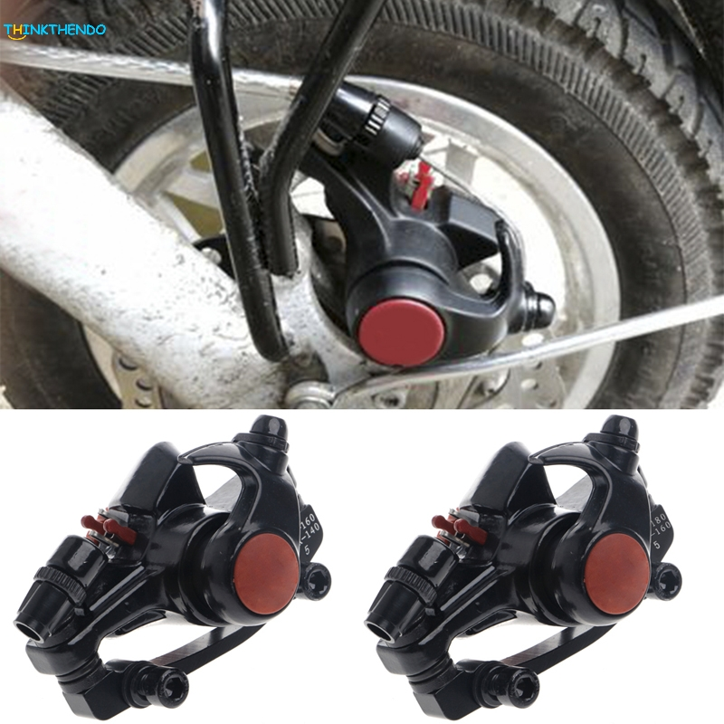 Bike Disc Brakes Front Rear Mechanical Caliper Road Mountain Cycling Bicycle New 2 pair universal car 3d style disc brake caliper covers front rear