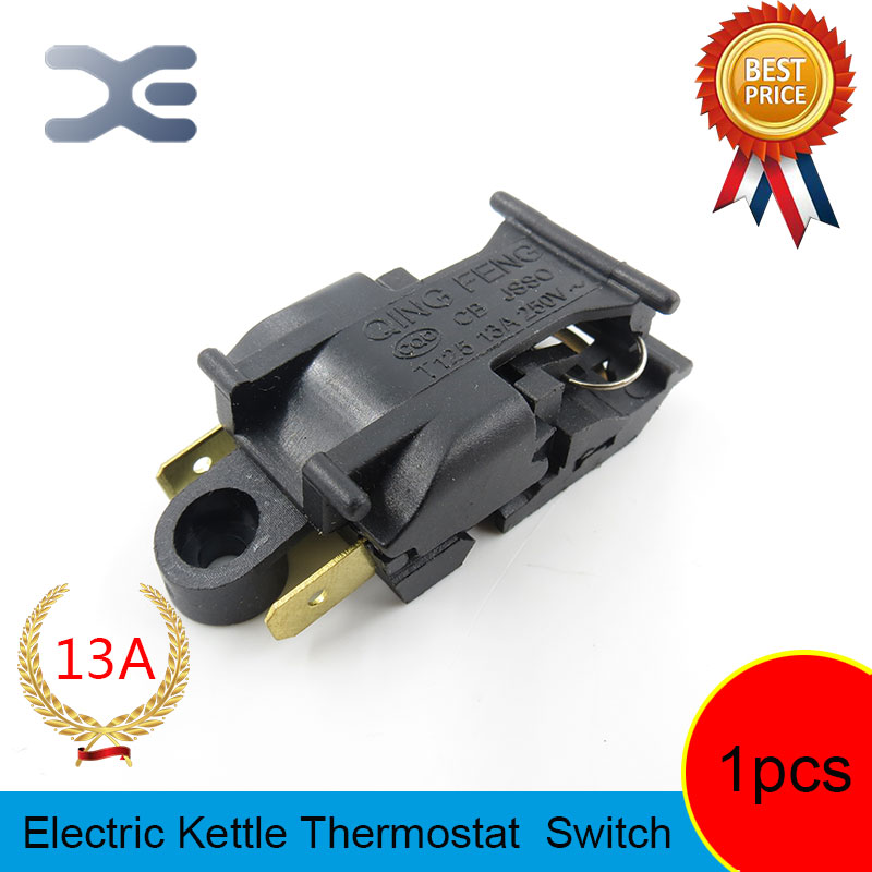 T125 XE-3 JB-01E 13A Heating Element Kettle New Spare Parts Electric Kettles Switch Water Heater Switch electric kettle parts thermostat jb 01e sld 113 ch 588 sl 888 zl 189 a zl 189 b kettle steam switch
