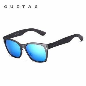 Image 4 - GUZTAG SUNGLASSES Aluminum Square Men/Women  Polarized Mirror UV400 Sun Glasses Eyewear Sunglasses For Men oculos de sol G9260