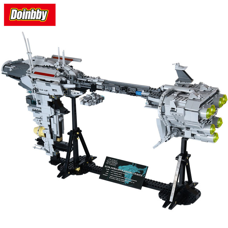 The Star Cool toy Wars Dental warships Model Building Block Bricks Toys 1736pcs Compatible with Legoings Star Wars super hero factory 5 star wars bulus robot 20cm action toy figure building bricks block 44004