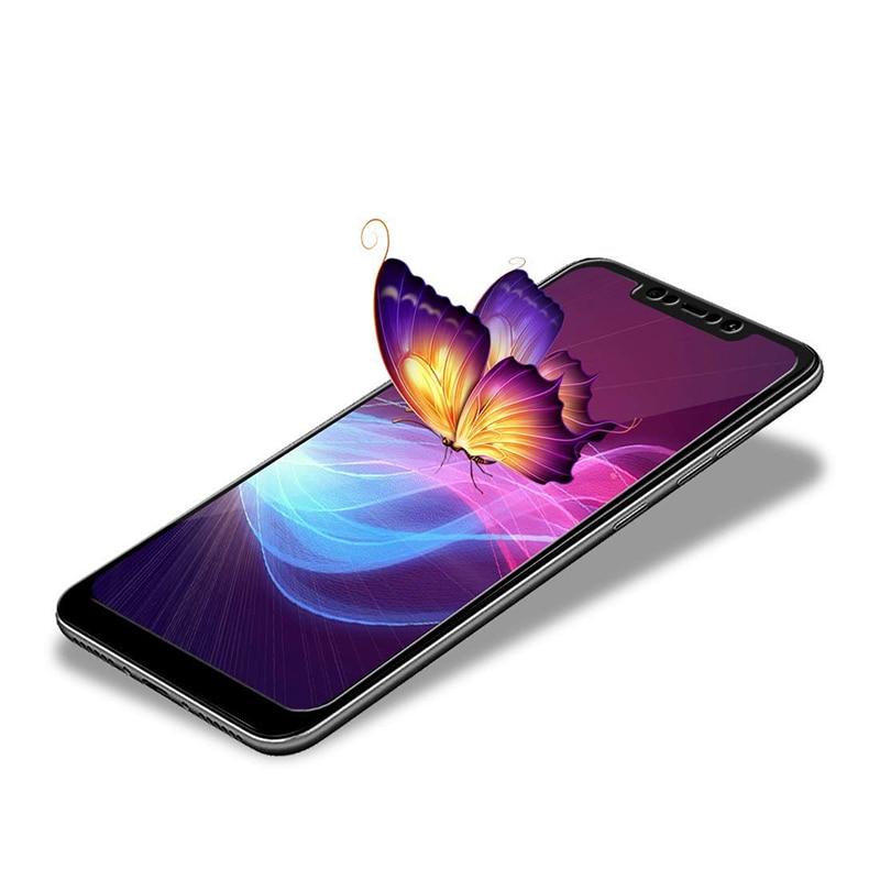 Suntaiho Tempered Glass for Xiaomi mi 8 lite Pocophone F1 A2 lite max3 screen protector full cover redmi note 5 S2 xiomi 8 Film