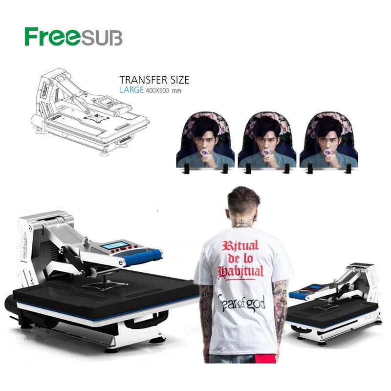 ST-4050A 40x50CM prasa hydrauliczna prasa do sublimacji maszyna przenikania ciepła do koszulek etui na telefony podkładki drukarskie