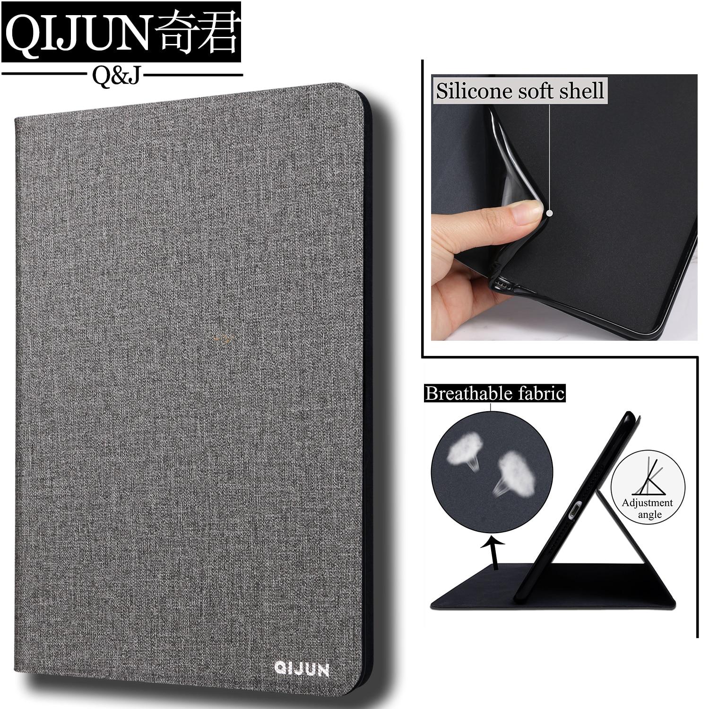 Qejun-funda con tapa para tableta Samsung Galaxy Tab S2 de 8,0 pulgadas, carcasa protectora de silicona suave, para T710/T715/T719