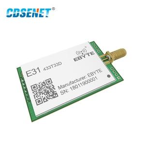 Image 3 - 433 MHz AX5243 トランシーバ rf モジュール長距離 33dBm CDSENET E31 433T33D UART Sma オス 2 ワット 433 433mhz の Rf 送信と受信機