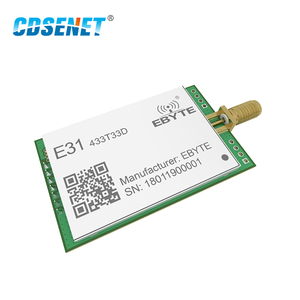 Image 3 - Transceptor AX5243 de 433 MHz, módulo de radiofrecuencia de largo alcance, 33dBm, CDSENET, E31 433T33D, UART, SMA, macho, 2W, 433 MHz, transmisor y receptor rf
