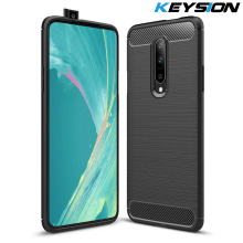 KYEISON Case for Oneplus 7 Pro Carbon Fiber Texture Shockproof Cover ProtectiveSoft TPU Silicone Case for oneplus 7 1+7 Pro