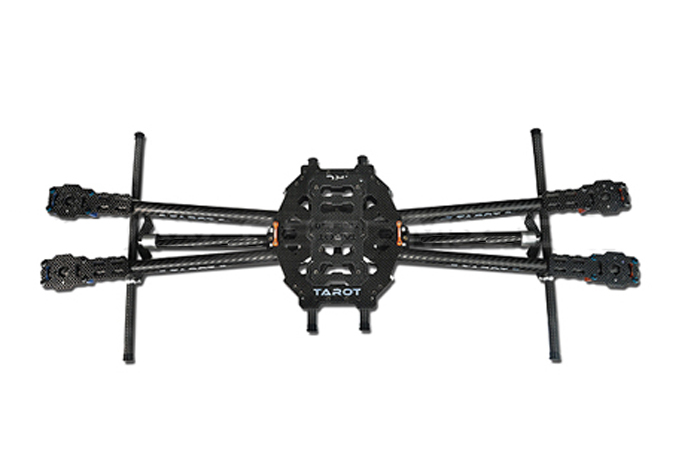 Tarot 650 Carbon Fiber 4 Axis Aircraft Fully Folding FPV Quadcopter Frame Kit TL65B01 F05548 Tarot 650 Carbon Fiber 4 Axis Aircraft Fully Folding FPV Quadcopter Frame Kit TL65B01 F05548