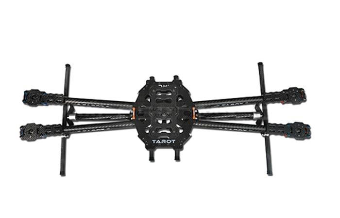 Tarot 650 Carbon Fiber 4 Axis Aircraft Fully Folding FPV Quadcopter Frame Kit TL65B01 F05548