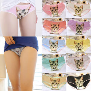 7319e3ee4071e LNRRABC Cotton Women Panties Cute Printed Briefs Underwear
