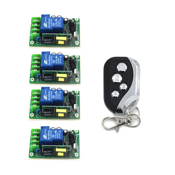 4CH Digital Wireless Remote Control Switch 85V-250V Wide Voltage Range 30A Big Load Relay Receiver SKU: 5499 85v 250v remote relay control switch 8ch receiver