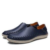 Fmzxg nyq 101-108 السببية أحذية الرجال المتسكعون الاخفاف الرجال السود الأحذية الجلدية حقيقية البيضاء عالية الجودة شقق لل رجل