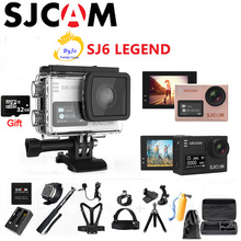 Original SJCAM SJ6 LEGEND Sports Camera 4K camera HD 2.0″ Touch Screen Remote Waterproof  Sports  Action Camera 32G SD card gift